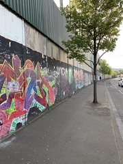 West Belfast - Peace Wall (dt.dunlop) Tags: belfast derry londonderry murals troubles antrim uk northernireland westbelfast coast art politicalart giantscauseway causewaycoastalroute causeway beach