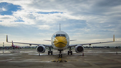 (seua_yai) Tags: asia southeastasia thailand bangkok tarmac jetplane wheels transportation airport donmueang dmk seuayai bangkok2019