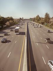 US101, Mountain View, California (bior) Tags: us101 freeway highway pentax645d mediumformat mountainview california road