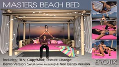 MASTER'S BDSM BEACH BED – NEW RELEASE FOR XXX EVENT – NEW (Media-SL) Tags: master's bdsm beach bed – new release for xxx event secondlife slblogging secondlifeblog slblog slphotography slblogger slavatar slfashion secondlifeavatar fashion fashionblog fashionblogging fashionista sexy slevent secondlifeevent slevents virtual virtualavatar amias vision lingerie