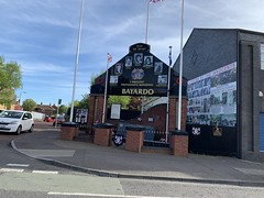 West Belfast - Bayardo Bar Attack (dt.dunlop) Tags: belfast derry londonderry murals troubles antrim uk northernireland westbelfast coast art politicalart giantscauseway causewaycoastalroute causeway beach