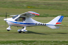 G-OASA - 2009 build Flight Design CTSW,  departing from Runway 26L at Barton (egcc) Tags: 8497 achurch barton ctsw cityairport egcb flightdesign gcghe goasa lightroom manchester microlight pmaviation