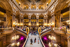 HALL DE L'OPERA GARNIER (CEDREAMS) Tags: 11mm 5d architecture canon capitale cedreams citycapital colonne column composants dslr eos escalier fisheye flickr france fullframe hall iledefrance image irix markiv music musique objectif opera operagarnier paris photographie photography pillar pleinformat reflex slr stairs travel trip type urbain urban ville voyage