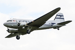 N877MG (PlanePixNase) Tags: fasberg fassberg eths fliegerhorst luftbrücke berlin rosinenbomber airlift 70 dc3 douglas dc3c panam panamerican paa