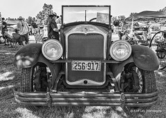 1928 Buick Standard (Kool Cats Photography over 12 Million Views) Tags: canon canoneos6d canon1635mmf4isllens blackandwhite bw highcontrast headlights headlamps bumper wheels carshow car vehicle 1928 buick photography rusty architecture artistic
