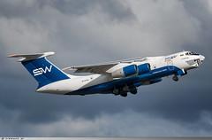 Ilyushin IL76TD Silk Way Airlines 4K-AZ100 (Clément W.) Tags: ilyushin il76td silk way airlines 4kaz100 lfpb lbg