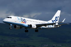 G-FBJH FlyBe Embraer ERJ-175STD at Glasgow International Airport on 9 June 2019 (Zone 49 Photography) Tags: aircraft airliner aeroplane june 2019 glasgow scotland egpf gla abbotsinch airport bebee flybe embraer erj 175 erj175 175std gfbjh