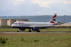 British Airways G-TTNJ BHD 03/06/19 (ethana23) Tags: planes planespotting aviation avgeek aeroplane aircraft airplane airbus a320 a320neo speedbird ba britishairways