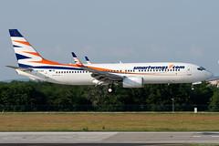 HA-LKG (Andras Regos) Tags: aviation aircraft plane fly airport bud lhbp spotter spotting landing smartwings boeing 737 b738 737800