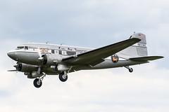 N8336C (PlanePixNase) Tags: fasberg fassberg eths fliegerhorst luftbrücke berlin rosinenbomber airlift 70 dc3 civilairtransport douglas dc3a