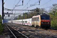 Talgo Madrid - Paris (Alexoum) Tags: sncf renfe talgo bb26000 railway train