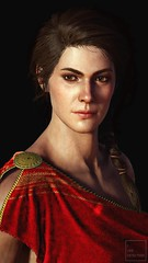 Red (ilikedetectives) Tags: kassandra portrait assassinscreed assassinscreedodyssey acodyssey acphotomode gaming gamecaptures ingamephotography videogames virtualphotography screenshot photomode ubisoft ubisoftquebec