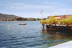 Bathing season has started in Zürich (titan3025) Tags: leica leicam6 m6 summicron 35mm kodak ultramax 400 zürich 2019