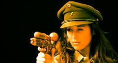 Hyasnaa V32 (saigneurdeguerre) Tags: bruxelles belgique be canon eos 5d mark 3 iii mark3 reflex model modele modelo hyasnaa ponte antonioponte aponte ponteantonio saigneurdeguerre portrait steampunk uniform hat chapeau képi
