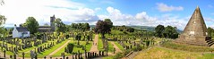Graveyard, Sterling, Scotland, UK (BrianDerbyshire) Tags: scotland uk stirling graveyard church canon canon550d panorama