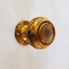 Antique Bronze Doorknob Set (06104-PB) (The Door Store) Tags: vintage salvage antique reclaimed original unique used period era classical traditional aged historic old oldfashioned worn secondhand rustic door store doorstore thedoorstore toronto ontario canada doorknob hardware brass bronze