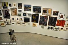 Artistic Expression (Trish Mayo) Tags: art paintings guggenheim museum museumgoer