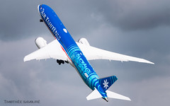 PAS19 | Air Tahiti Nui Boeing 787-9 Dreamliner | N1015X (Timothée Savouré) Tags: air tahiti nui boeing 787 7879 dreamliner paris show salon du bourget 2019 pas siae lfpb demonstration flight display