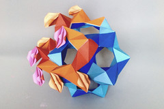 Burning House (uqbarryn) Tags: meditation sutra tomhull phizz paper modular origami