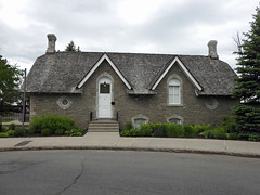 The Coach House (1867-1868) for Canada's Prime Minister's Official Residence in Ottawa, Ontario (Ullysses) Tags: coachhouse 24sussexdrive primeministerofcanadasofficialresidence ottawa ontario canada spring printemps gorffwsfa josephcurrier gordonedwards roundabout gothicrevivalstyle ottawahistory