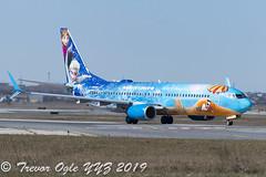 DSC_5242Pwm (T.O. Images) Tags: cgwsv westjet boeing 737 737800 frozen disney toronto pearson yyz