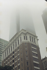 Philadelphia in the fog - Fed 2 + Kodak Colorplus 200 (itskaty) Tags: philadelphia fed2 pennsylvania kodakcolorplus200 35mm rangefinder russianleica fog centercity