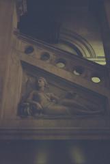 Philadelphia City Hall - Fed 2 + Kodak Colorplus 200 (itskaty) Tags: philadelphia fed2 pennsylvania kodakcolorplus200 35mm rangefinder russianleica cityhall centercity architecture historic statue