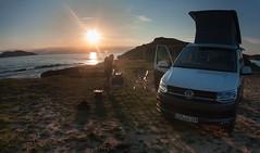 IMG_5536-1 (Andre56154) Tags: albanien albania sonnenuntergang sunset sonne sun himmel sky küste coast meer ozean ocean vw volkswagen california camping auto car fahrzeug vehicle t6