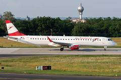 OE-LWD (Andras Regos) Tags: aviation aircraft plane fly airport bud lhbp spotter spotting austrian austrianairlines embraer erj195 erj195lr erj190200