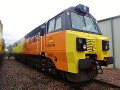 70808 at Crewe Depot Open Day 2019 (train_photos) Tags: 70808 crewe depotopenday colasrail