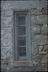 Eastern State Penitentiary - Fed 2 + Fujifilm Superia 400 (itskaty) Tags: philadelphia fed2 pennsylvania kodakcolorplus200 35mm rangefinder russianleica fujifilmsuperia easternstatepenitentiary prison penitentiary architecture