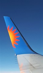 Boeing 757 Blended Winglet (Grumman G1159) Tags: boeing aviationpartners winglet blendedwinglet fence wingtip 757200 logo insignia
