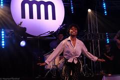 Nubiyan Twist (10 van 13) (Maarten Kerkhof) Tags: cheriseadamsburnett fujifilmxe2 internationalmusicmeeting liveonstage musicmeeting musicmeetingnijmegen nubiyantwist xe2