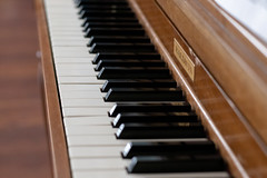 Keyboard (elizabeth.f.chamberlain) Tags: music instrument instruments musical piano keyboard keys blackandwhite baldwin