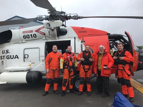 Cordova FOL crew saves man stranded for three days on Montague Island, Alaska