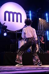 Nubiyan Twist (12 van 13) (Maarten Kerkhof) Tags: cheriseadamsburnett fujifilmxe2 internationalmusicmeeting liveonstage musicmeeting musicmeetingnijmegen nubiyantwist xe2