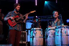 Nubiyan Twist (7 van 13) (Maarten Kerkhof) Tags: fujifilmxe2 internationalmusicmeeting liveonstage musicmeeting musicmeetingnijmegen nubiyantwist xe2