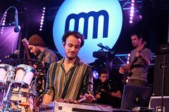 Nubiyan Twist (5 van 13) (Maarten Kerkhof) Tags: fujifilmxe2 internationalmusicmeeting liveonstage musicmeeting musicmeetingnijmegen nubiyantwist xe2