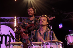 Nubiyan Twist (2 van 13) (Maarten Kerkhof) Tags: fujifilmxe2 internationalmusicmeeting liveonstage musicmeeting musicmeetingnijmegen nubiyantwist xe2