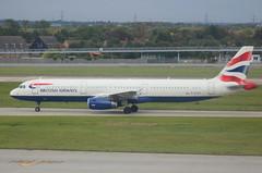 British Airways G-EUXE Airbus A321-231 at London Heathrow LHR England UK (japes10) Tags: british airways geuxe airbus a321231 london heathrow lhr england uk britishairways