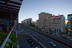 Covilhã, Europe Avenue (lebre.jaime) Tags: portugal beira covilhã digital ff fx fullframe nikon d600 nikkorafs1735f28d dusk lateevening