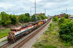 Redemption (Brandon.H.Photography.) Tags: ohio canon rail railroad railfan ge bcol british columbia railway grain train trains railfanning west csx bnsf v089 june