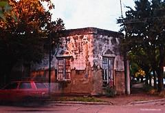 Canción de esquina... (-Ana Lía-) Tags: nikon flickr villaepecuén esquina pueblo argentina interior abandonado abandono olvido tiempo exterior calle arboleda tristeza lluvia