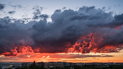 Sunset 6/13/19 (ep_jhu) Tags: xt3 washington sunset nubes fuji dc fujifilm clouds