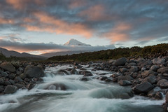 River Deep, Mountain High (Antony Eley) Tags: river stream mountain mttaranaki colour cloud snow landscape nature nikon