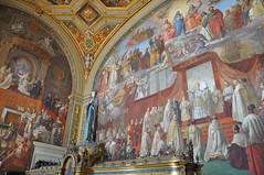 Room Of The Immaculate Conception (Ryan Hadley) Tags: vaticanmuseums museivaticani museum artgallery art vatican vaticancity rome italy europe worldheritagesite roomoftheimmaculateconception painting mary
