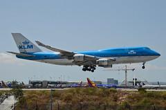 KLM Airlines 747-406(M) (PH-BFI) LAX Approach 2 (hsckcwong) Tags: klmairlines klm 747406m 747400 747 phbfi lax klax