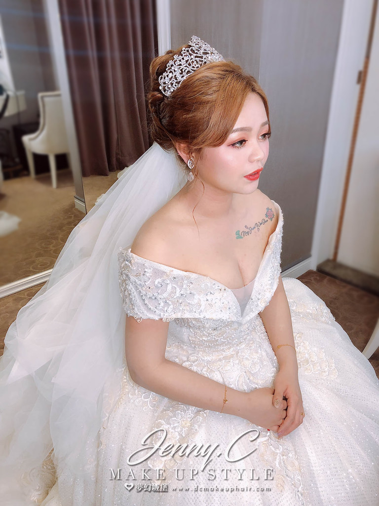 【新秘蓁妮】brideAbby 訂結婚造型 / 南港雅悅會館