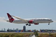 "Virgin Atlantic 787-900 Dreamliner ""Lucy in the Sky"" (G-VDIA) LAX Approach 3 (hsckcwong) Tags: virginatlantic virginatlanticairways787900 7879 787 dreamliner gvdia lucylnthesky lax klax"