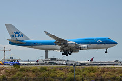 KLM Airlines 747-406(M) (PH-BFI) LAX Approach 3 (hsckcwong) Tags: klmairlines klm 747406m 747400 747 phbfi lax klax
